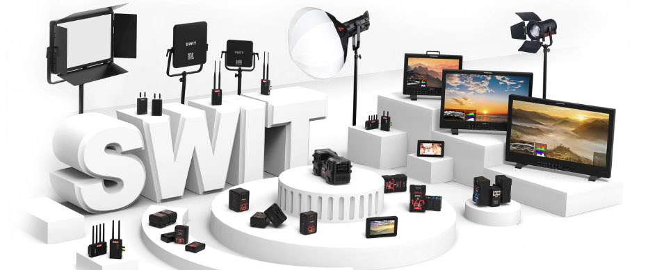 SWIT video gear