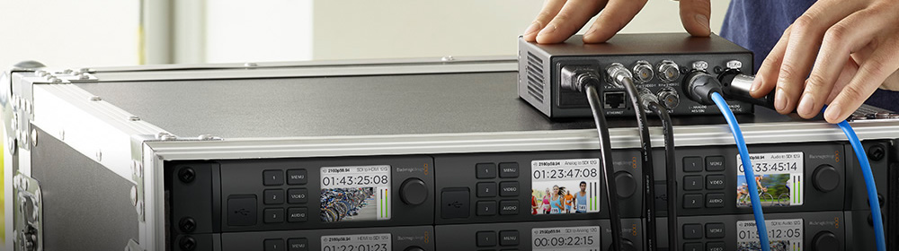 Blackmagic converters