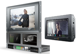 All Blackmagic monitoring solutions