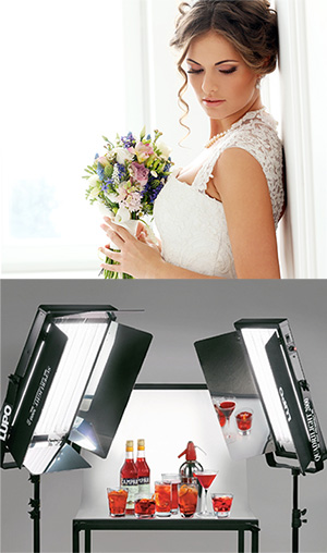 Lupo Fluorescent Fixtures For Photography