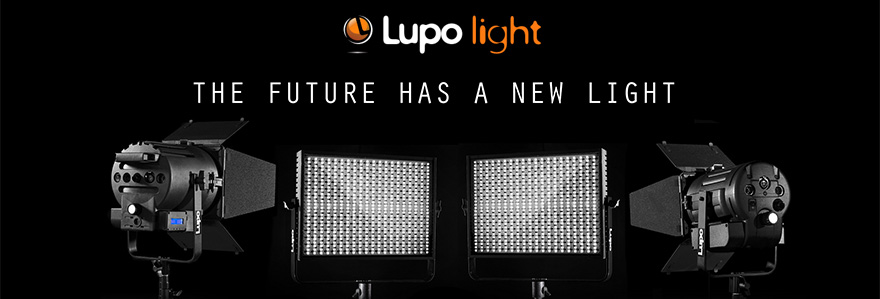 Lupo LED, Fluorescent and HDI lights, panels and fresnels