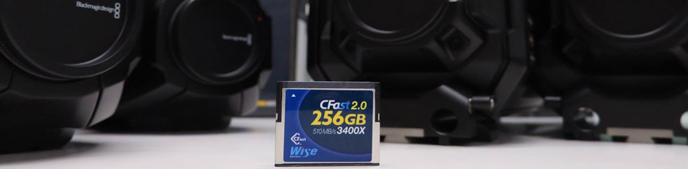 Wise Advanced SSD, Cfast, Compact Flash and SD storage