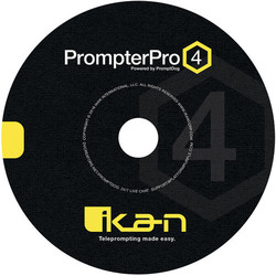 Ikan PROMPTERPRO4 PrompterPro 4 Teleprompting Software for PC and Mac