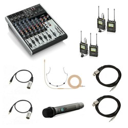 AUDIO Bundle / Additional Audio Mixer and Microphones to Video Bundles