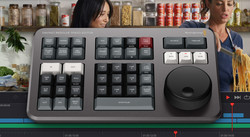 Blackmagic DaVinci Resolve Studio Software + Free DaVinci Resolve Speed Editor keyboard