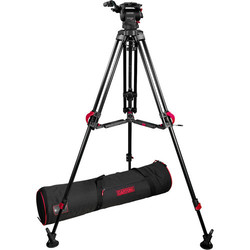 Cartoni FOCUS 8 with 2-St Red Lock ALU Tripod System