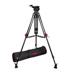 Cartoni KF10-RLM FOCUS 10 with 2-St Red Lock ALU Tripod System