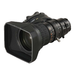 Fujinon XA20SX8.5BRM-K3 8.5-170mm Telephoto 2/3 inch ENG lens with ergonomic digital servo, Quick Zoom, and inner focus