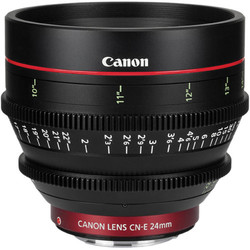 Canon CN-E24mm T1.5 L F Cinema Lens