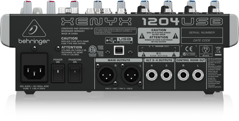 BEHRINGER XENYX 1204 WINDOWS 8.1 DRIVERS DOWNLOAD