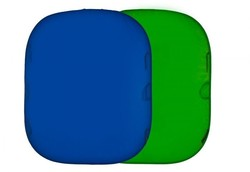 Lastolite Collapsible Reversible 1.5 x 1.8m Chromakey Blue/Green