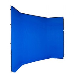Manfrotto Chroma Key FX 4x2.9m Background Cover Blue