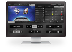 Streamstar SCOREPLUS - Real-time Live Sports Graphics Generator Software