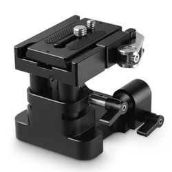 SmallRig 2092 Universal 15mm Rail Support System Baseplate