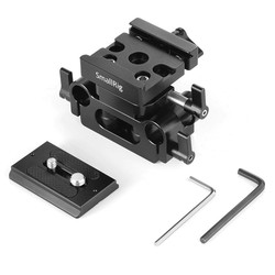SmallRig 2272 Universal 15mm Rail Support System Baseplate