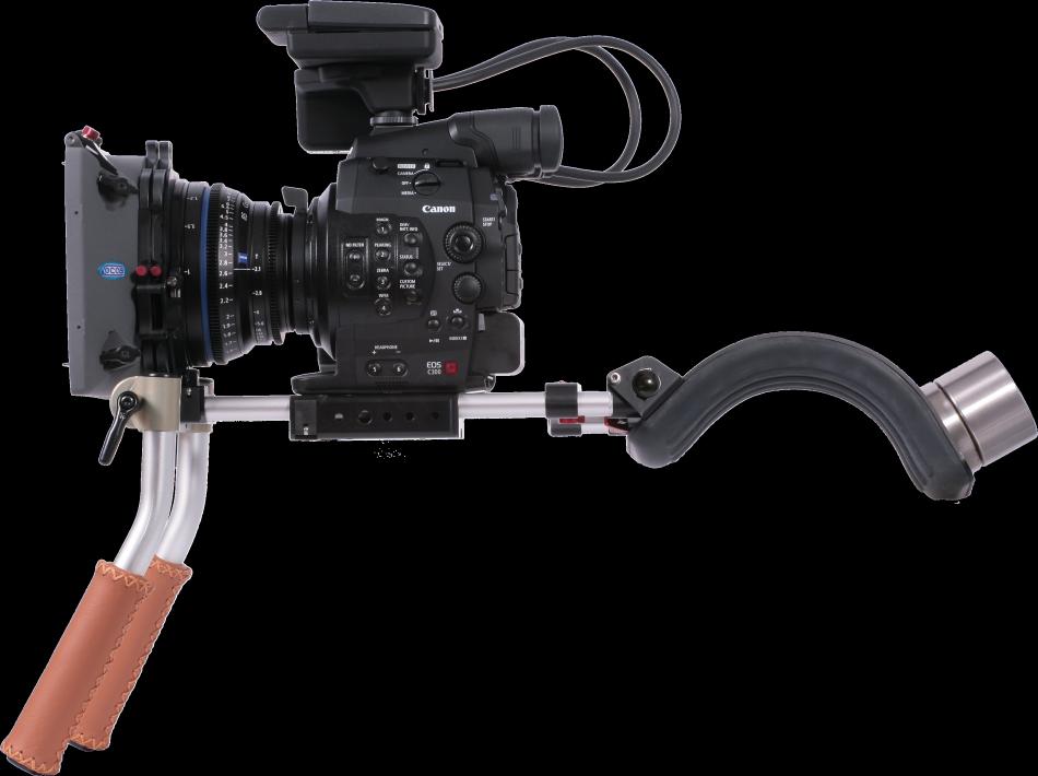Vocas Handheld shoulderrig for Canon C100, C300 and C500