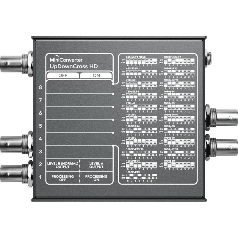 Blackmagic Mini Converter Updowncross Hd Videoexpert Eu