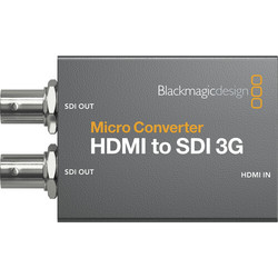 Blackmagic Micro Converter HDMI to SDI 3G wPSU (with power supply)