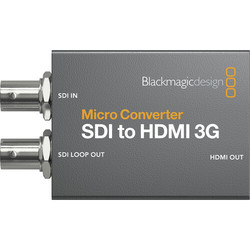 Blackmagic Micro Converter SDI to HDMI 3G wPSU (with power supply)