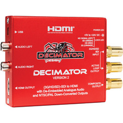 Decimator 2 3G/HD/SD-SDI to HDMI Converter