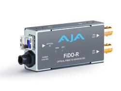 AJA Optical Fiber Converters