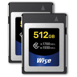 Wise 512GB CFexpress Memory Card - 2 Pack