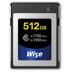 Wise 512GB CFexpress Memory Card