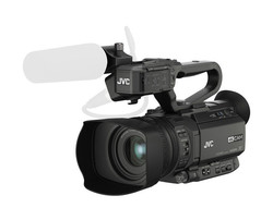 JVC GY-HM250E - 4K Live Streaming Camcorder with Broadcast Graphics
