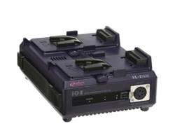 IDX VL-2PLUS - 2-Channel V-Mount Battery Charger