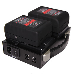 Rotolight Dual Channel V Lock battery Charger