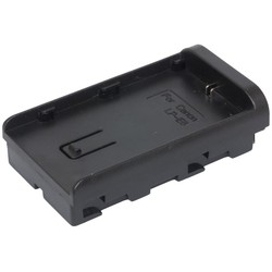LEDGO Canon E6 Battery Adapter Plate for On Camera