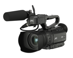 JVC GY-HM180E - Compact 4K camcorder with 3G-SDI