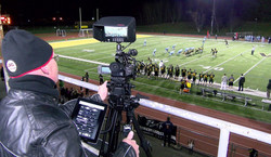 JVC GY-HM250ESB - 4K Live Streaming Camcorder with Broadcast and Sports Graphics