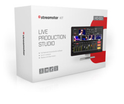 Streamstar HD-SDI Kit - Streamstar Software + 4-input HD-SDI + 1-input HDMI cards