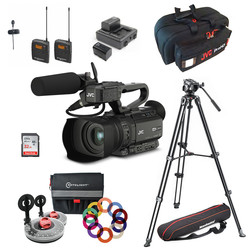 Camera Bundle JVC GY-HM250E - PLUS