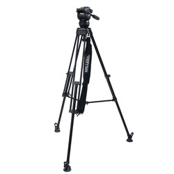 Miller 3702 CX2 Toggle 1-Stage Alloy Tripod System with above ground spreader