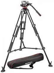 Manfrotto MVH502A,546BK - MVH502A Fluid Head and 546B Tripod System