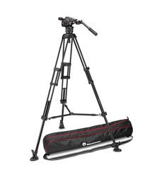 Manfrotto N8/546B (MVKN8TWINM) - Manfrotto Nitrotech N8 Video Head & 546B 2-Stage Aluminium Tripod