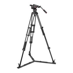 Manfrotto N8/546GB (MVKN8TWING) - Manfrotto Nitrotech N8 Video Head & 546GB 2-Stage Aluminium Tripod