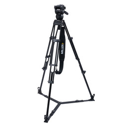 Miller 3704 CX2 Toggle 2-Stage Alloy Tripod System with ground spreader