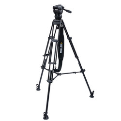 Miller 3705 CX2 Toggle 2-Stage Alloy Tripod System with above ground spreader