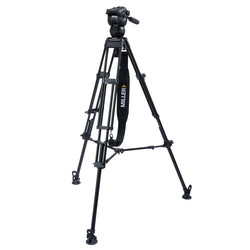 Miller 3721 CX6 TOGGLE - 2-Stage Alloy Tripod System with above ground spreader