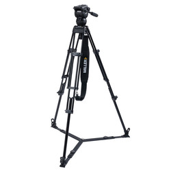 Miller 3736 CX8 TOGGLE - 2-Stage Alloy Tripod System with on ground spreader