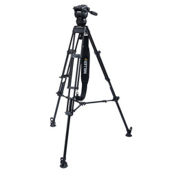 Miller 3737 CX8 TOGGLE - 2-Stage Alloy Tripod System with above ground spreader