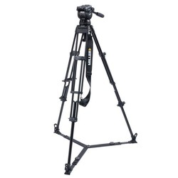 Miller 3753 CX10 TOGGLE - 2-Stage Alloy Tripod System with ground spreader