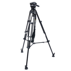 Miller 3756 CX10 TOGGLE - 2-Stage Alloy Tripod System with above ground spreader