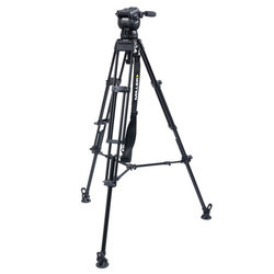 Miller 3775 CX18 TOGGLE - 2-Stage Alloy Tripod System with above ground spreader