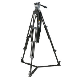 Miller 848 DS20 2-Stage Alloy Tripod System with on Ground Spreader