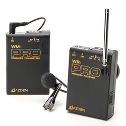 Azden WLX-PRO VHF Wireless Microphone System