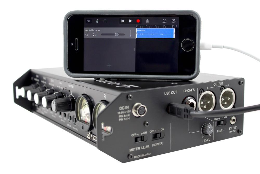 Azden Fmx42u 4 Channel Portable Micline Mixer With Usb Digital Rhvideoexperteu: Digital Audio Output At Gmaili.net